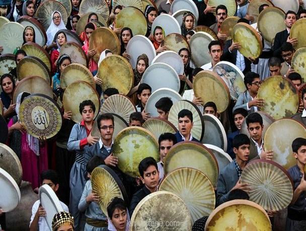 دَف کردستان برخی نواحی ایران